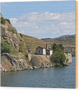 Douro River Valley Wood Print