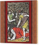 Drumul Crucii - Stations Of The Cross  Wood Print