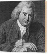 Erasmus Darwin, English Polymath Wood Print
