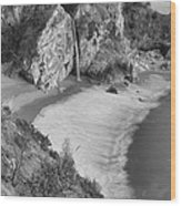Mcway Falls - Big Sur Wood Print by Stephen  Vecchiotti