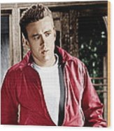 Rebel Without A Cause, James Dean, 1955 Wood Print