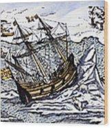 Willem Barents (c1550-1597) Wood Print