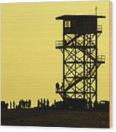 82nd Airborne Division Soldiers Gather Wood Print