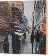 82nd Street Wood Print