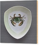 866 4 Part Of The Crab Set 1 Wood Print by Wilma Manhardt