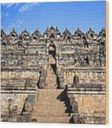 Borobudur Wood Print