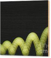 Bouncing Ball Wood Print