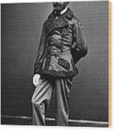 Civil War: Union Soldier Wood Print