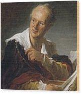 Denis Diderot (1713-1784) Wood Print