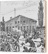 Great Railroad Strike, 1877 Wood Print