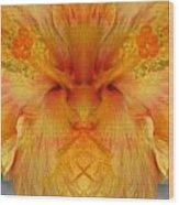 Hibiscus Mystery Wood Print