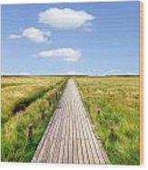 Kampen - Sylt Wood Print by Joana Kruse