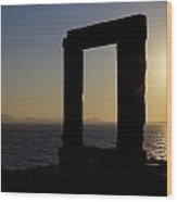 Naxos - Cyclades - Greece Wood Print