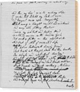 Samuel Taylor Coleridge Wood Print