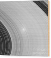 Saturns Rings Wood Print