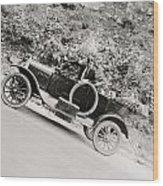 Silent Film: Automobiles Wood Print