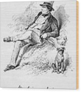 Washington Irving Wood Print
