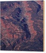 Western United States Wood Print