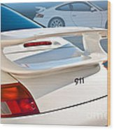 911 Porsche 996 8 Wood Print