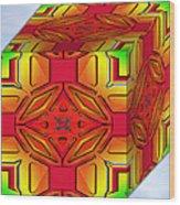 A Beautiful Cube Wood Print