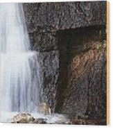 A Beautiful Waterfall Wood Print