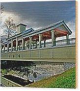 A Bridge In Time Wood Print