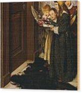 A Carol Wood Print by Laura Theresa Alma-Tadema