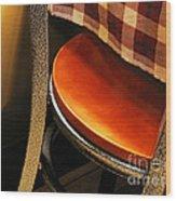 A Chair Wood Print