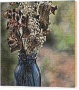 A Child's Bouquet Wood Print
