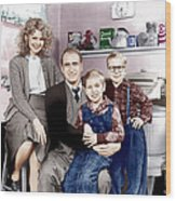 A Christmas Story, From Left Melinda Wood Print