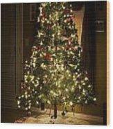 A Christmas Tree Wood Print
