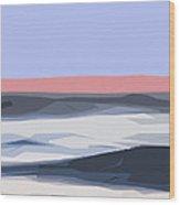 A Coastal Sunrise  Wood Print