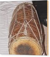 A Dholak Which Is A Musical Instrument  Wood Print