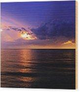 A Drop In The Ocean Wood Print