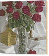 A Fine Romance Wood Print