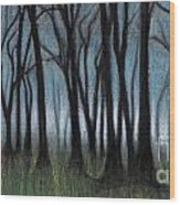 A Forest Wood Print