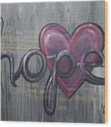 A Future Of Hope Wood Print