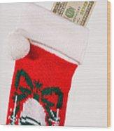 A Gift From Santa Wood Print