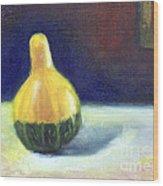 A Gourd  Wood Print