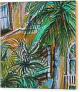 A Hotel In Sorrento Italy Wood Print