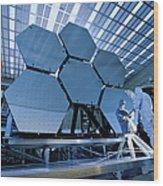 A James Webb Space Telescope Array Wood Print