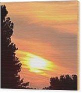 A June Sunrise Wood Print