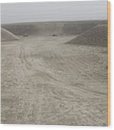 A Large Wadi Near Kunduz, Afghanistan Wood Print