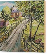 A Light Summer Breeze Wood Print