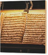 A Little Night Music Wood Print by Lauri Novak