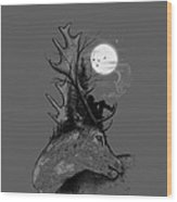 A Long December Wood Print