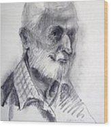 A Man Wood Print
