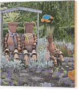A Marine Garden Area In The Childrens Wood Print