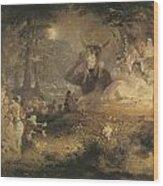 A Midsummer Night's Dream Wood Print
