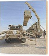 A Missile Reload Certification Wood Print